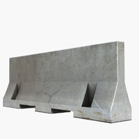 3D concrete blocks