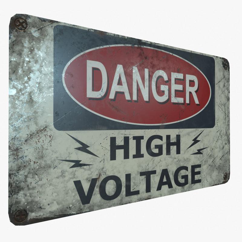 3D ready danger voltage pbr