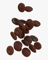 coffee beans model