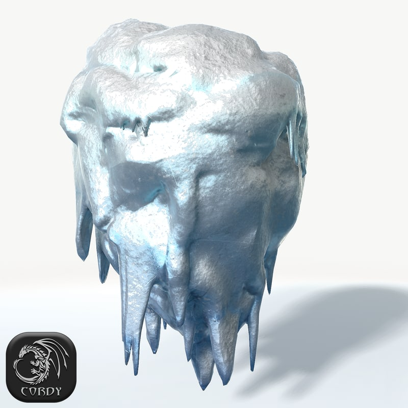 floating island frozen 3D model