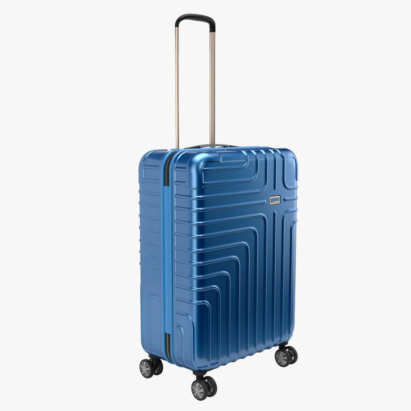 john lewis suitcase 68cm 3D model