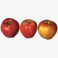 3D model apple scan