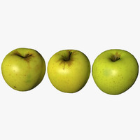 3D apple scan