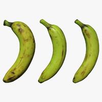 3D model banana scan