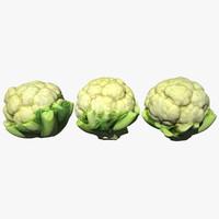 cauliflower scan 3D model
