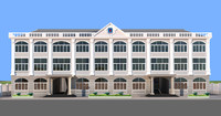 3D government building model