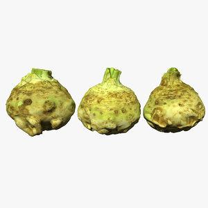 3D celery scan