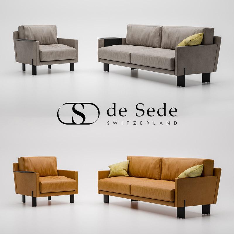 3D desede sofa ds-77 armchair