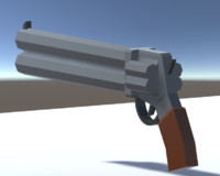 low-poly 19 weapons pack 3D model
