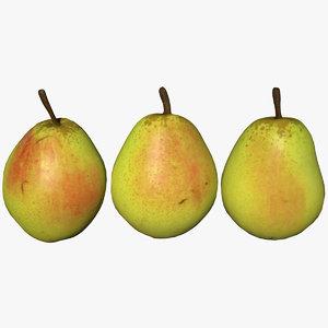 pear scan 3D model