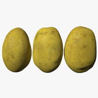 3D potato scan
