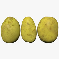 3D model potato scan