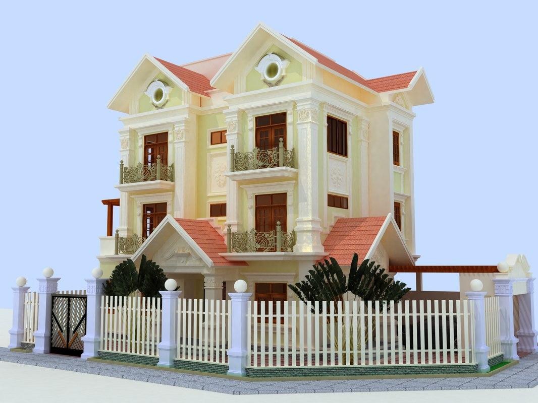 neo classic villa model