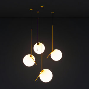 3D model light ceiling