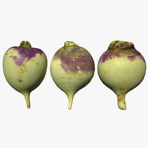 3D turnip scan
