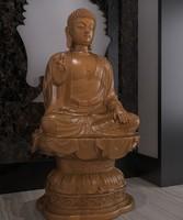 3D buddha buddhist statues