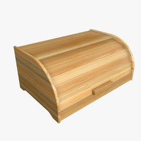 3D model kitchinspirations bread box polys
