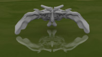3D pentery fantasy jas model