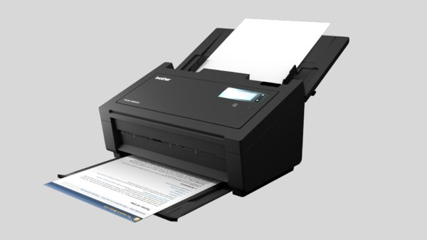 brother printer 3D model
