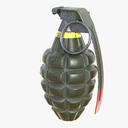 mk 2 grenade 3D models