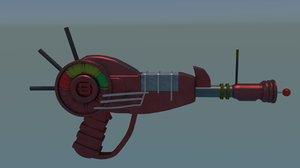 3D cod raygun model