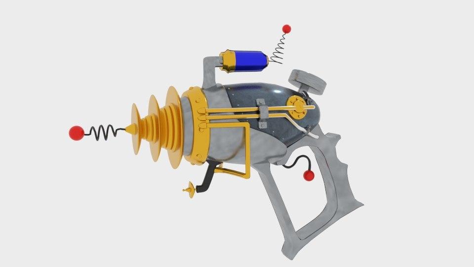 statgun stat gun 3D model