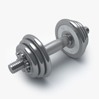 dumbbell press model