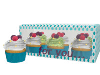 cupcake box 3D model