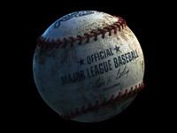 baseball 4k 3D model