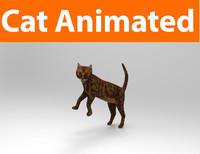 cat animations 3D
