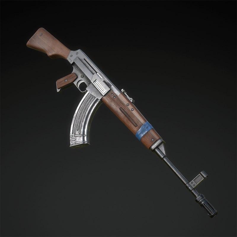 7 assault rifle kuzmischev model