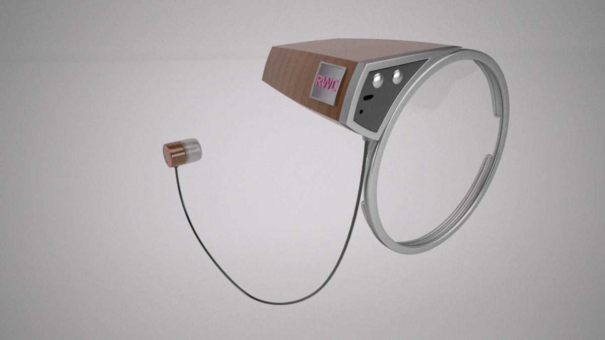 3D model mono lens rewind