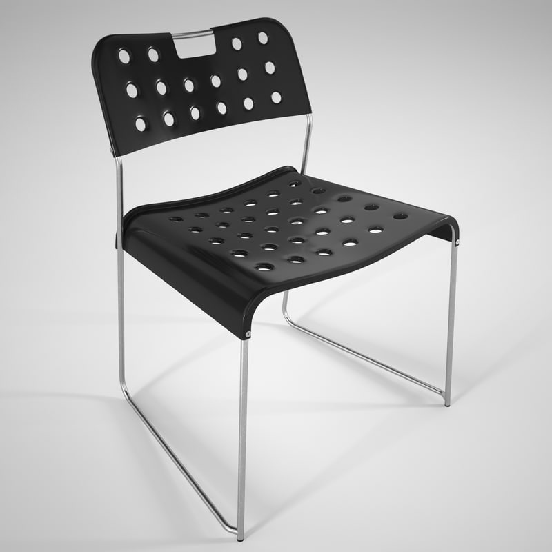 omstak chair 3D
