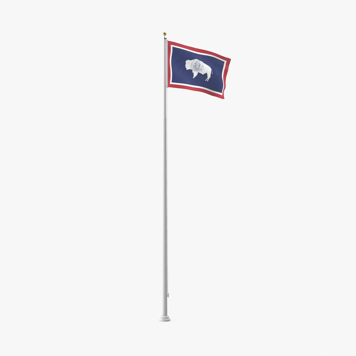 3D state-flags---wyoming model