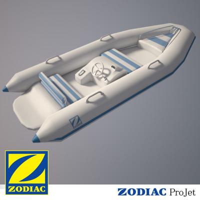 zodiac projet 3D model