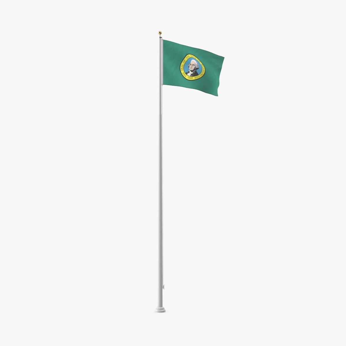 state-flags---washington 3D model