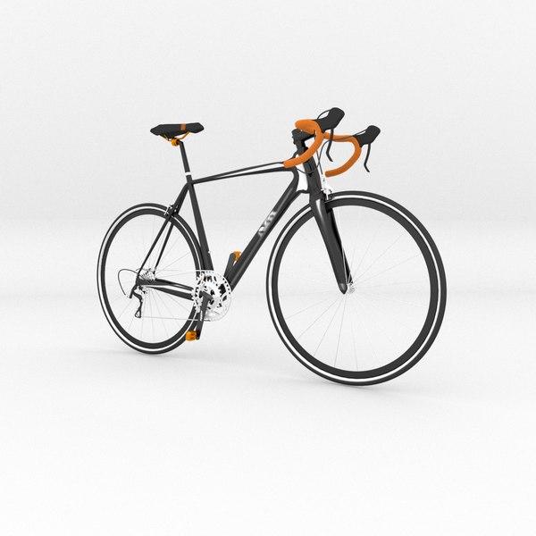 racing bike 3D model