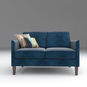3D columbus sofa small