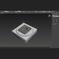 nz power socket 3D model