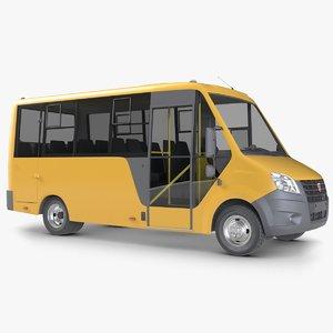 gazzele cityline bus 3D