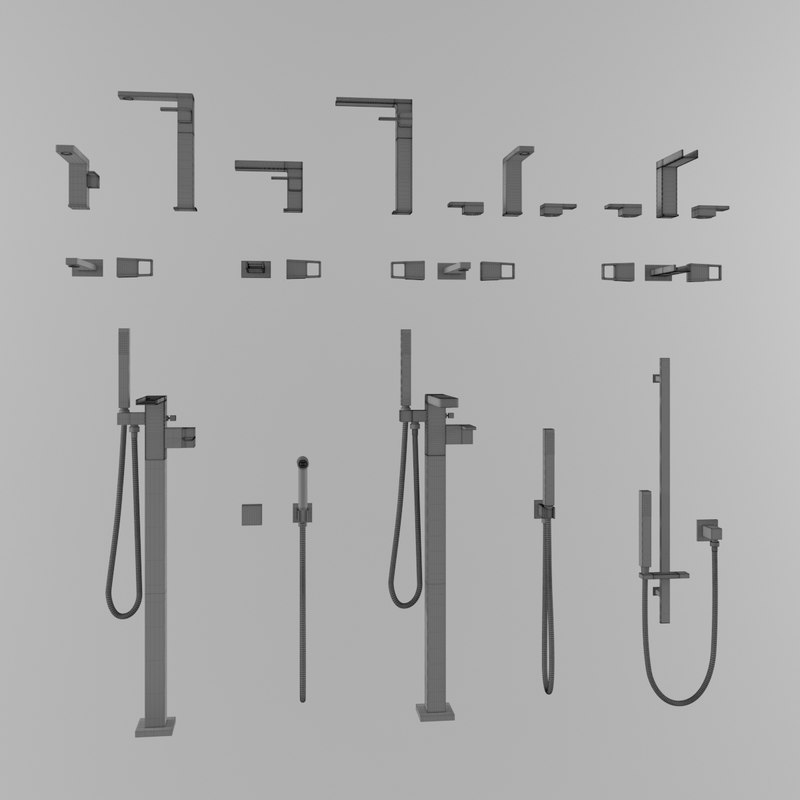 3D faucet tap