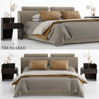 3D trussardi liam beds model