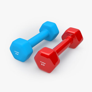 fitness dumbbell model