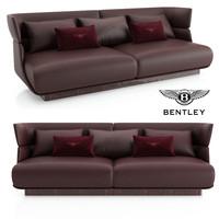 bentley lanchester sofa 3D model