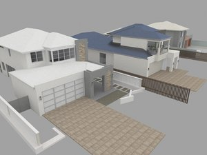 3D australian homes