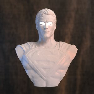superman 3dprinter 3D model