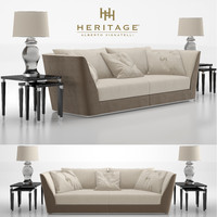 alberto heritage sofa oasi 3D