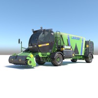 faresin leader 2200 3D model