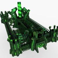 3D castle factory