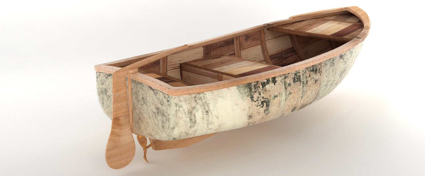 fisher boat 3D model